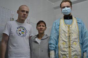 Молельная комната в в противотурбекулезном диспансере Сургута