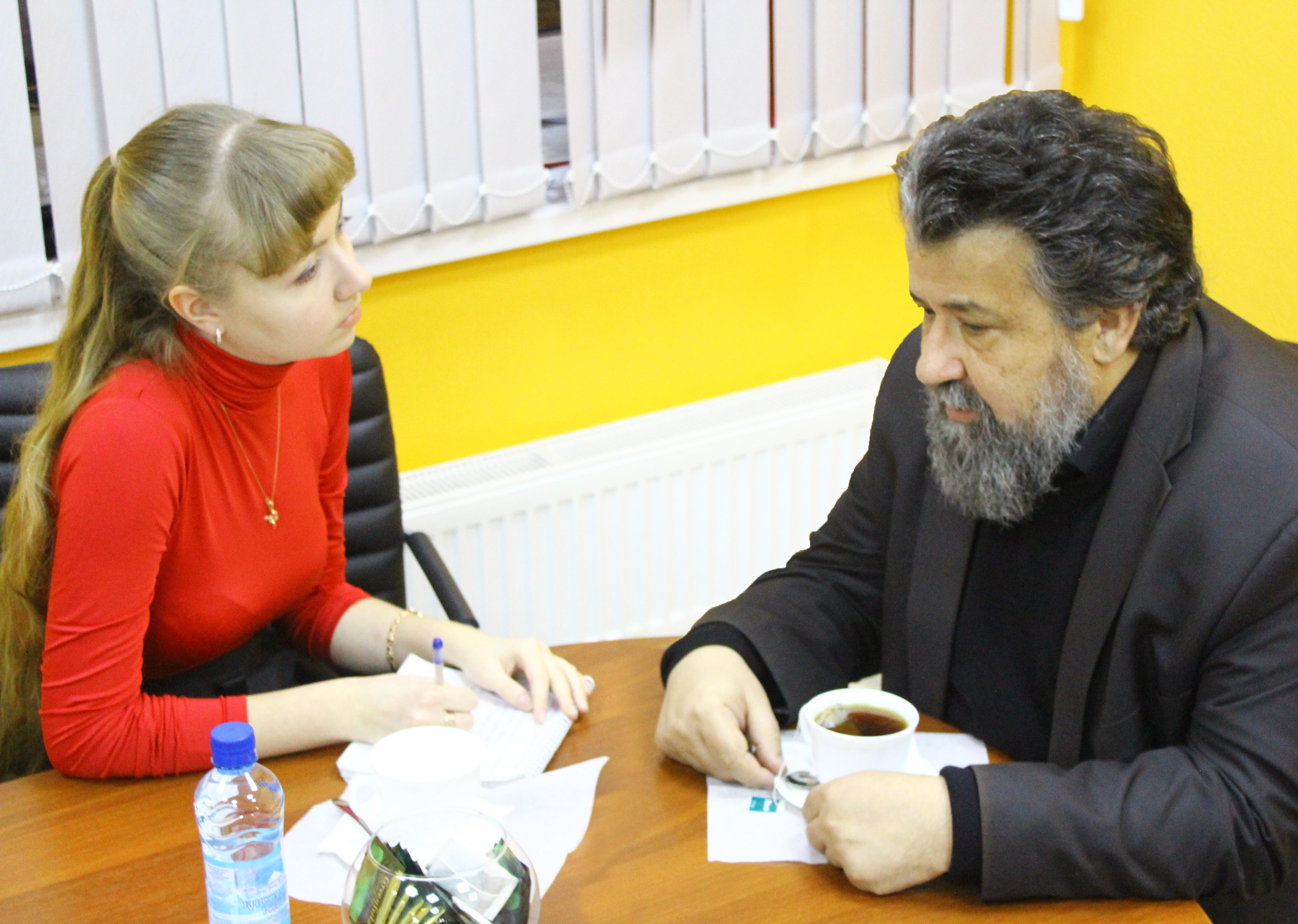 Интервью с В.Д.Ирзабековым в Сургуте