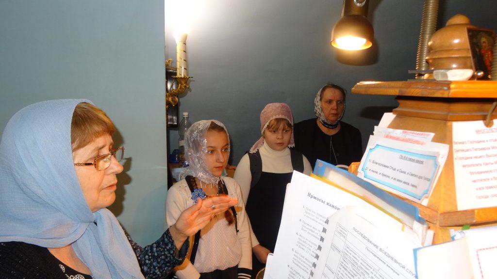 Участие детей в Богослужении